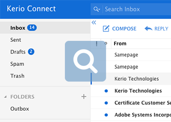 Kerio Cloud Email