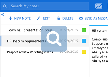 Kerio Cloud Email Notes